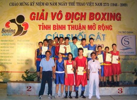 Đội tuyển Boxing Bình Thuận